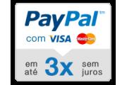 paypal 3 x sem juros